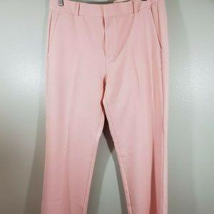Banana Republic Womens Size 10 Pants Logan Pink